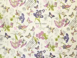 Тефлоновые ткани LOUVRE - дизайн GARDEN