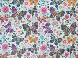 Тефлоновые ткани LOUVRE - дизайн MARIPOSAS