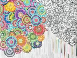 Тефлоновые ткани LOUVRE - дизайн KATANO