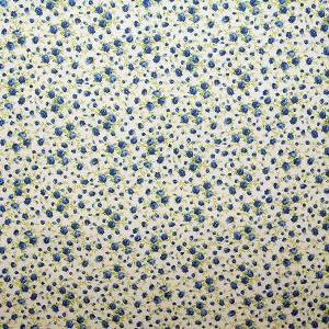 Ткани в синий цветочек MATISSE azul